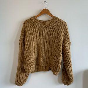 Nasty Gal chunky knit sweater